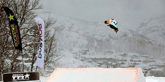 Ny slopestylecourse og NorgesCup i Kirkerud