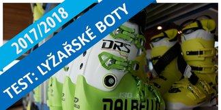Test lyžařské obuvi: 49 modelů pánských přezkáčů 2017/2018 ©OTS