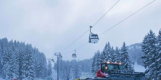 Snow blankets alpine ski resorts 1/12/17 - © Courchevel/Facebook