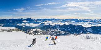 Où skier pour la Toussaint ? ©Maison de Tignes
