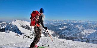 Skitoeren rond Alpe Hohenegg, Oberallgäu ©Andreas P - Fotolia
