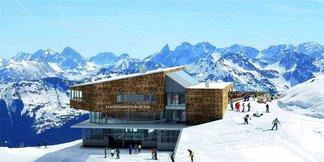 Kleinwalsertal: Na Ifene vyrastajú dve nové lanovky a panoramatická reštaurácia ©www.ok-bergbahnen.com