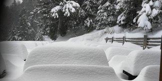 Erste Schneefälle in der Slowakei - © Štrbské Pleso | Facebook