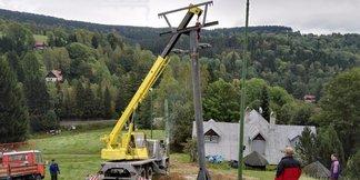 Černá Říčka: Lyžaři se mohou těšit na nový kotvový vlek ©Desná - Černá Říčka - facebook
