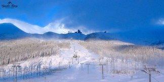 Ráno po sněhové nadílce - © Webkamery