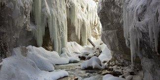 Vrchol zimní turistiky - Partnachklamm ©Martin Wackerzapp