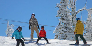 Family Fun Pack - $199 - Bear Chair Tickets & Rentals for a Family of Four ©Brundage Mountain Resort, McCall, Idaho