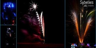 Tentative de record du monde et show pyrotechnique au Corbier ©Laurent Nat