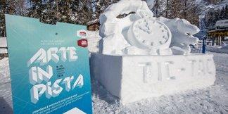 Alta Badia: le sculture di neve di Arte in Pista ©Alta Badia Facebook
