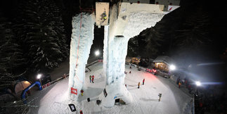 Champagny accueil la Coupe d'Europe de cascade de glace ©Monica Dalmasso
