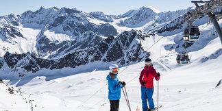 Glacier ski openings: Fancy skiing this October half term? ©Kaunertaler Gletscher | Daniel Zangerl