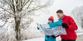 """Best of Winterwandern in Oberbayern: Die vier schönsten """"Landschaftskino""""-Wege ©Tourismus Oberbayern"""