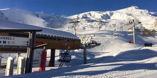 Le domaine skiable des Sybelles ouvre ce samedi 16 décembre 2017 ©OT La Toussuire