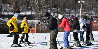 "Shawnee Mountain's ""Learn a Snow Sport Day"" Raises $2,784 for Bushkill Outreach Food Bank ©Shawnee Mountain Ski Area"