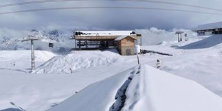 Weerbericht: verse sneeuw in mei ©Facebook @alpe.huez