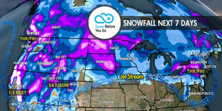 2.29 Snow Before You Go: Large Storms for Both Coasts ©Meteorologist Chris Tomer