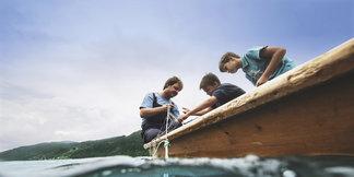 Mit kleinen Schritten zu großen Entdeckungen am Millstätter See - ©Kärnten Werbung, Sam Strauss