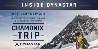 Jeu concours : Dynastar vous accueille à Chamonix