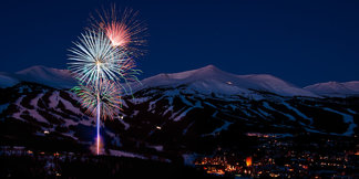 Best Ski Resorts for New Year's Events, Fireworks ©Breckenridge