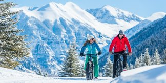 Fat biking in Telluride - © Visit Telluride/Ryan Bonneau