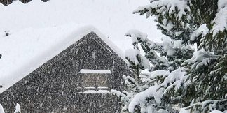 Le ultime nevicate sulle Alpi [Fotogallery] ©Livigno Facebook