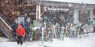 Obrázky z Alp: Napadlo už 80 cm sněhu! ©Meribel Coeur des 3 Vallees | Facebook
