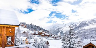 Snowiest ski resort of the week (Dec. 3-9) ©Méribel Coeur des 3 Vallées/Facebook