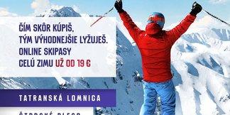 Čím skôr kúpiš, tým lacnejšie lyžuješ! ©TMR, a.s.
