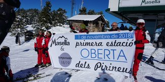 Ouverture avant l'heure pour Masella ©Station de ski de Masella