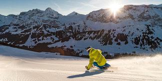 L'Oberland bernois, paradis des vacances à la neige ©Adelboden Tourismus / Roger Gruetter