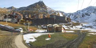 Ouverture repoussée d'une semaine à Val Thorens ©Webcam Roundshot / Station de Val Thorens