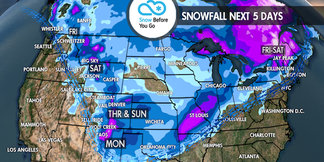 Heavy Snow to Totally Dry: 11.8 Snow B4U Go ©Meteorologist Chris Tomer