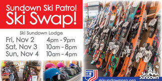 Sundown Ski Patrol Ski Swap  ©Ski Sundown