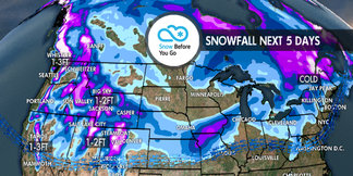 Feast on 1-3 Feet of Thanksgiving Powder: 11.22 Snow B4U Go ©Meteorologist Chris Tomer