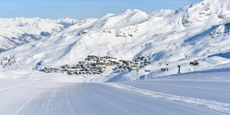 Snowcast for our top 20 ski resorts ©facebook Val Thorens
