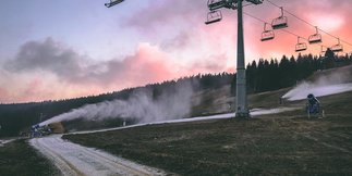 Armatki poszły w ruch ©FB Zieleniec Ski Arena