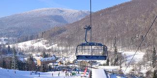 Sněžení a mráz zlepšují podmínky pro lyžování ©Heliasport