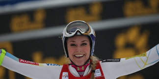 Lake Louise : Lindsey Vonn voit triple ©Agence Zoom