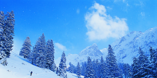 Profitez de la neige dans les Alpes Fribourgeoises - ©www.fribourgregion.ch
