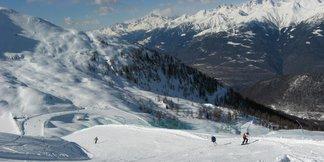4 stazioni sciistiche a misura di sciatore in Valtellina ©A. Corbo