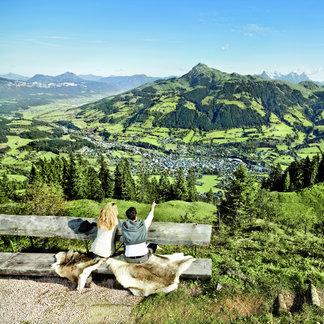 Ausblick auf Kitzbühel - ©Kitzbühel Tourismus
