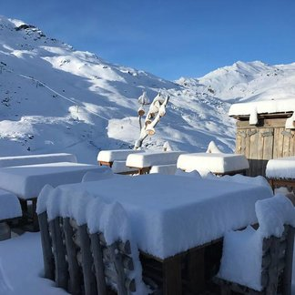 Fresh snow in the Alps March 26th, 2017 - ©Val Thorens/Facebook