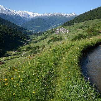 Das zukünftige Bergsteigerdorf Matsch in Südtirol - ©Gianni Bodini