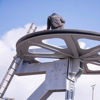 Strachan: Nová 4-sedačka ve výstavbě - © Strachan Ski centrum