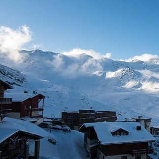 Fresh snow in the French Alps 26/11/17 - © Val Thorens/Facebook