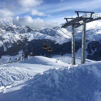Neve fresca sulle Alpi (11 Dicembre) - © Caroselo 3000 Livigno - Facebook