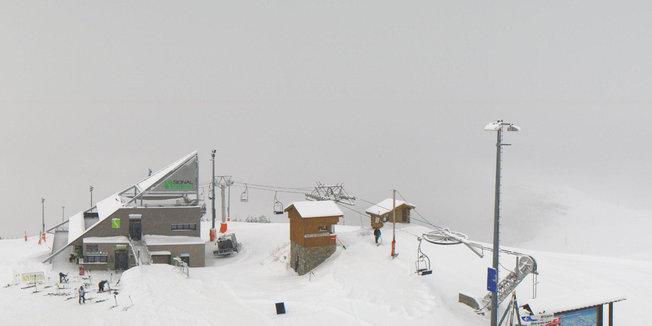 Świeży śnieg we Francji (20.12.2013)