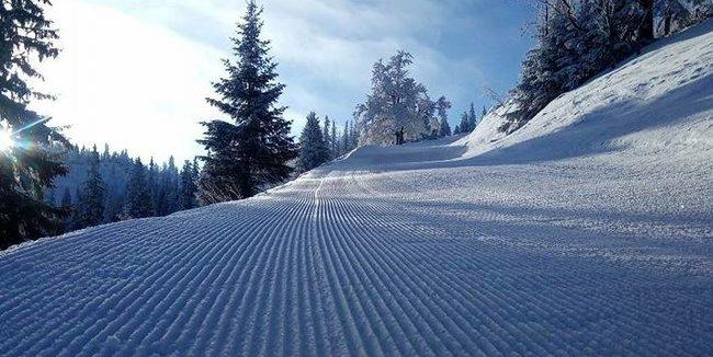Slovenské zjazdovky v januári 2018 - © facebook Ski Čertovica