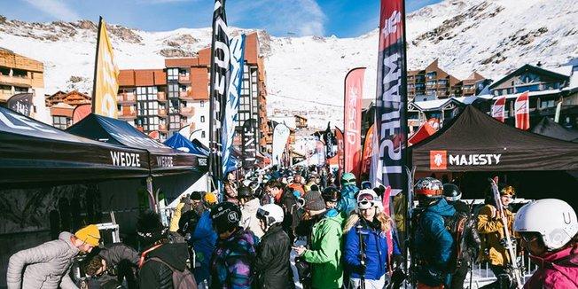 Čerstvý sníh v Alpách 24.11.18 - © Val Thorens/Facebook