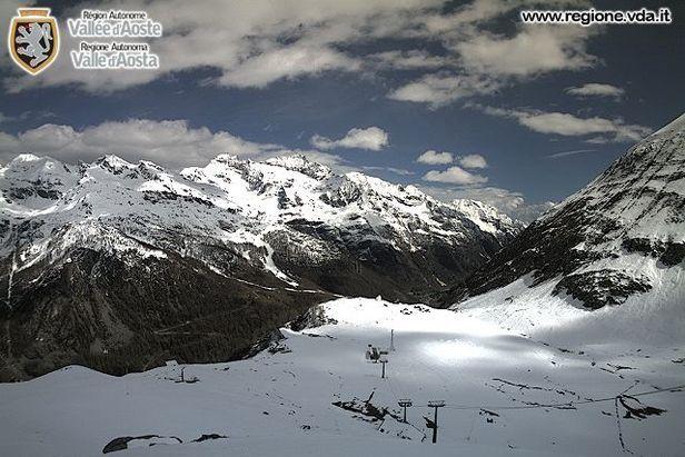L'inverno non è mai finito! Neve fresca del 25.05.13 - Gressoney